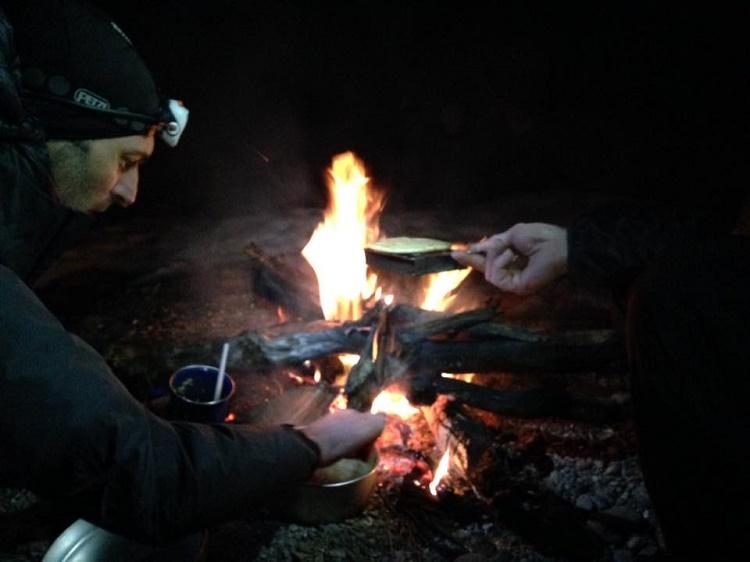 Fire on second night