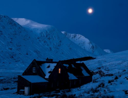 The (almost) Champagne & Powder weekend, Glenuaig lodge, Strathcarron 7th – 10th Feb 2020